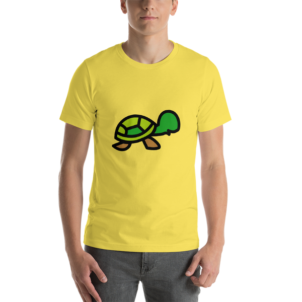 Emoji T-Shirt Store | Turtle emoji t-shirt in Yellow