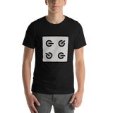 Emoji T-Shirt Store | Control Knobs emoji t-shirt in Black