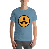 Emoji T-Shirt Store | Radioactive emoji t-shirt in Blue