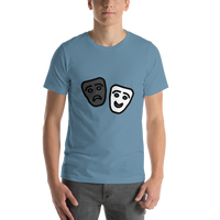 Emoji T-Shirt Store | Performing Arts emoji t-shirt in Blue