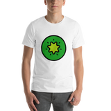 Emoji T-Shirt Store | Kiwi Fruit emoji t-shirt in White