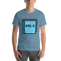 Emoji T-Shirt Store | Blue Book emoji t-shirt in Blue