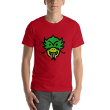 Emoji T-Shirt Store | Dragon Face emoji t-shirt in Red