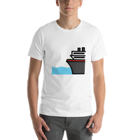 Emoji T-Shirt Store | Ferry emoji t-shirt in White
