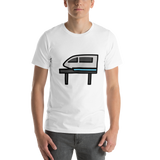 Emoji T-Shirt Store | Monorail emoji t-shirt in White