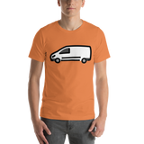 Emoji T-Shirt Store | Delivery Truck emoji t-shirt in Orange