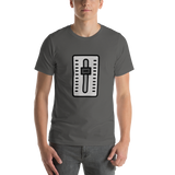 Emoji T-Shirt Store | Level Slider emoji t-shirt in Dark gray