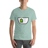 Emoji T-Shirt Store | Teacup Without Handle emoji t-shirt in Green
