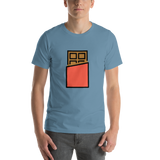 Emoji T-Shirt Store | Chocolate Bar emoji t-shirt in Blue