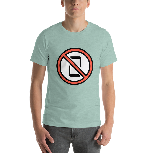 Emoji T-Shirt Store | No Mobile Phones emoji t-shirt in Green