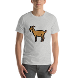 Emoji T-Shirt Store | Goat emoji t-shirt in Light gray