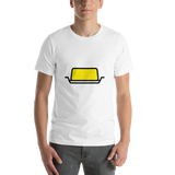 Emoji T-Shirt Store | Butter emoji t-shirt in White