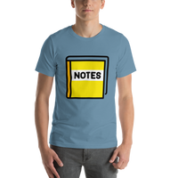 Emoji T-Shirt Store | Notebook With Decorative Cover emoji t-shirt in Blue