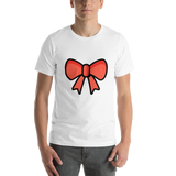 Emoji T-Shirt Store | Ribbon emoji t-shirt in White