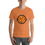 Emoji T-Shirt Store | Shallow Pan Of Food emoji t-shirt in Orange