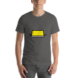 Emoji T-Shirt Store | Butter emoji t-shirt in Dark gray