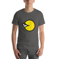 Emoji T-Shirt Store | Fortune Cookie emoji t-shirt in Dark gray