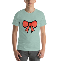 Emoji T-Shirt Store | Ribbon emoji t-shirt in Green