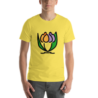 Emoji T-Shirt Store | Bouquet emoji t-shirt in Yellow