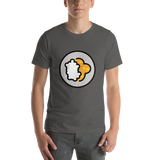 Emoji T-Shirt Store | Curry Rice emoji t-shirt in Dark gray