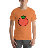 Emoji T-Shirt Store | Tomato emoji t-shirt in Orange