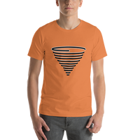 Emoji T-Shirt Store | Tornado emoji t-shirt in Orange