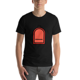 Emoji T-Shirt Store | Backpack emoji t-shirt in Black