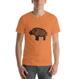 Emoji T-Shirt Store | Boar emoji t-shirt in Orange