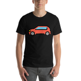 Emoji T-Shirt Store | Automobile emoji t-shirt in Black