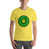 Emoji T-Shirt Store | Kiwi Fruit emoji t-shirt in Yellow