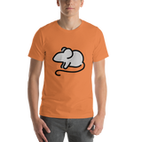 Emoji T-Shirt Store | Mouse emoji t-shirt in Orange