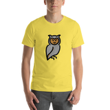 Emoji T-Shirt Store | Owl emoji t-shirt in Yellow