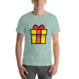Emoji T-Shirt Store | Wrapped Gift emoji t-shirt in Green