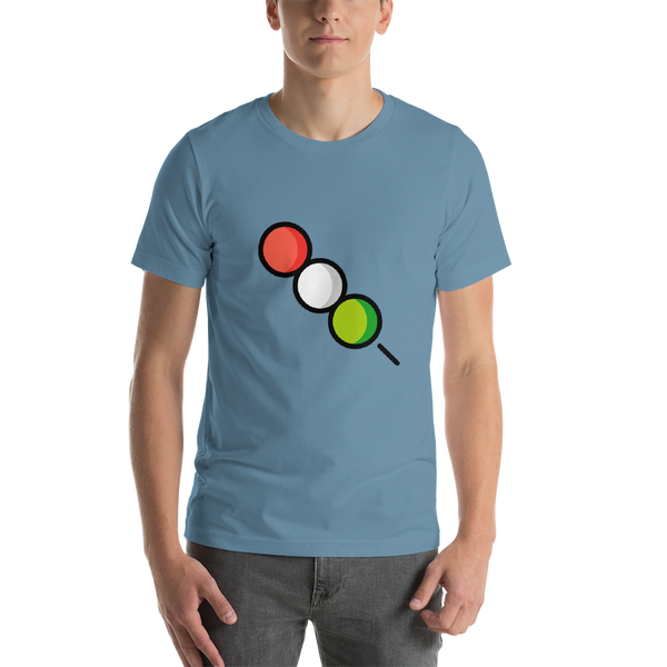 Emoji T-Shirt Store | Dango emoji t-shirt in Blue