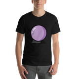 Emoji T-Shirt Store | Crystal Ball emoji t-shirt in Black