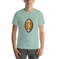 Emoji T-Shirt Store | American Football emoji t-shirt in Green