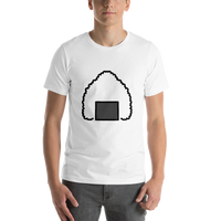 Emoji T-Shirt Store | Rice Ball emoji t-shirt in White