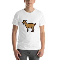 Emoji T-Shirt Store | Goat emoji t-shirt in White