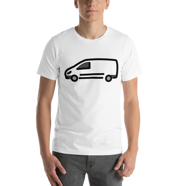Emoji T-Shirt Store | Delivery Truck emoji t-shirt in White