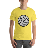 Emoji T-Shirt Store | Volleyball emoji t-shirt in Yellow