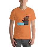 Emoji T-Shirt Store | Ferry emoji t-shirt in Orange