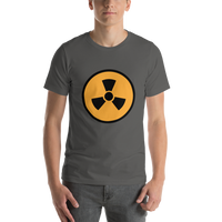 Emoji T-Shirt Store | Radioactive emoji t-shirt in Dark gray