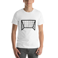 Emoji T-Shirt Store | Goal Net emoji t-shirt in White