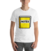 Emoji T-Shirt Store | Notebook With Decorative Cover emoji t-shirt in White