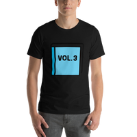 Emoji T-Shirt Store | Blue Book emoji t-shirt in Black