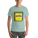 Emoji T-Shirt Store | Notebook With Decorative Cover emoji t-shirt in Green