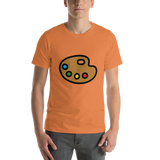 Emoji T-Shirt Store | Artist Palette emoji t-shirt in Orange