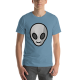 Emoji T-Shirt Store | Alien emoji t-shirt in Blue