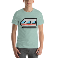 Emoji T-Shirt Store | Light Rail emoji t-shirt in Green
