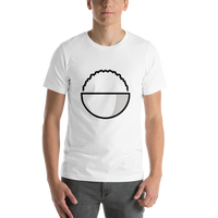 Emoji T-Shirt Store | Cooked Rice emoji t-shirt in White